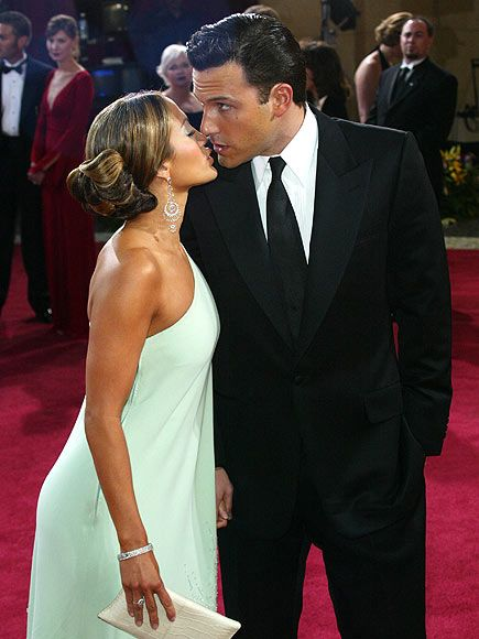 詹妮弗-洛佩茲(Jennifer Lopez)和本-阿弗萊克(Ben Affleck)