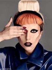 Lady Gaga杂志照曝光