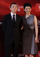 Director Feng Xiaogang and his wife