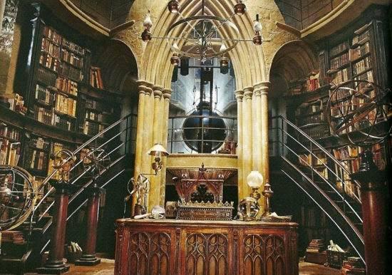 《哈利-波特》十大电影经典场景--校长办公室