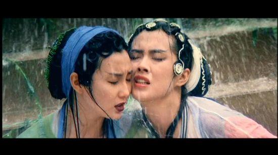 张曼玉,王祖贤在《青蛇》中