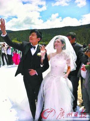 张杰迎娶谢娜:我心里的天使只有你