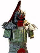 戏服:玉盔甲《战国》
