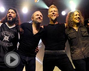 Metallica30周年音乐会 Dave亮相