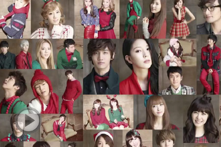 最养眼:Super Junior《Santa U Are The One》