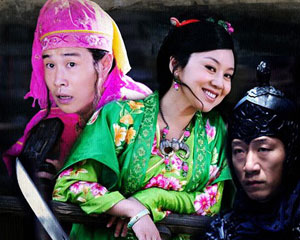 导演张艺谋2010年贺岁片――《三枪拍案惊奇》