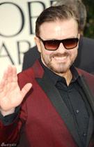 Host Ricky Gervais