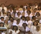 教堂现场唱诗班表演