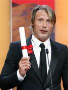 最佳男演员奖米科尔森《狩猎》