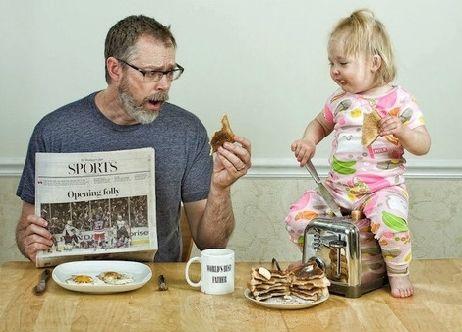 """""""我要为老爸做该死的早餐"""""""
