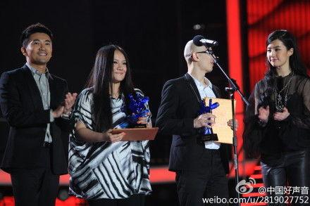 郑红平安获得《天籁的回响》奖项
