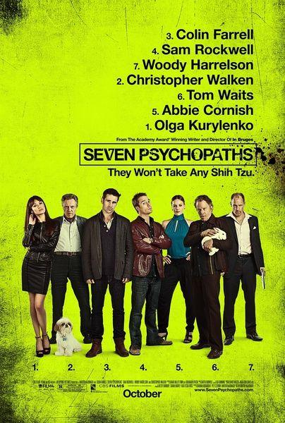 《七个神经病》海报