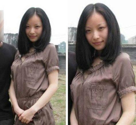 倪妮未成名前照片