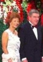 国奥会副主席Thomas夫妇