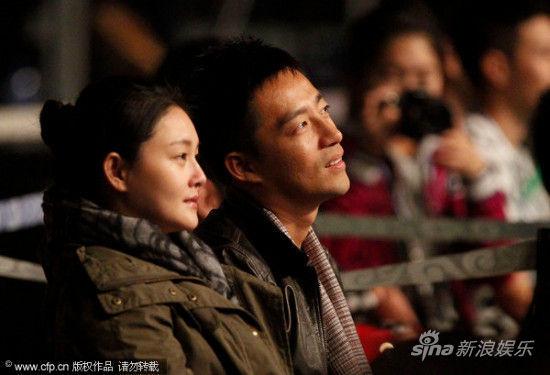 大S与老公汪小菲看苏打绿演唱会
