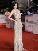Angelababy优雅长裙