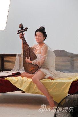 龔玥菲大型古裝靜態電影《新金瓶梅》花絮