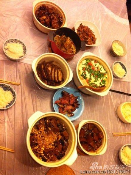 黄磊非常喜欢下厨