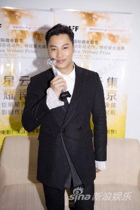 谭耀文荣获金微奖最佳男演员奖