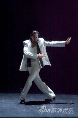 此次来京演出,阿马尔戈带来了他创作的第六部舞剧《弗拉明戈组舞》