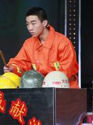 消防队打击乐表演