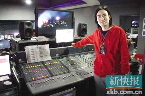 《我是歌手》导控室