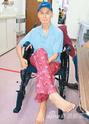 刘家辉中风后去年入住护老院,却传出家事风波。