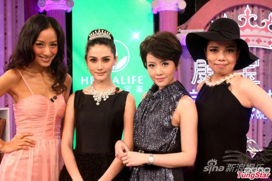 蔣怡與《美麗俏佳人》衆姐妹