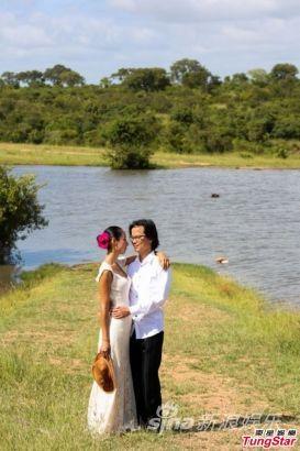 蔣怡與翁狄森南非舉行婚禮