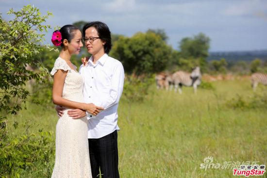 蔣怡與翁狄森甜蜜完婚