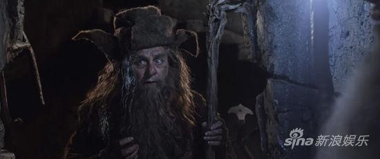 褐袍巫師在《霍比特人2》中也有戲份