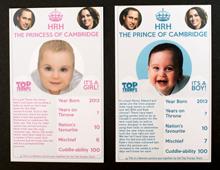 英纸牌游戏推出皇室Baby拼图