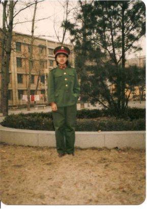年轻时的韩红
