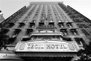 藍可兒事件發生地塞西爾酒店
