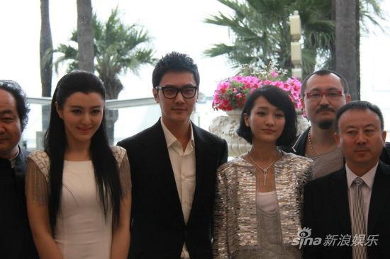 馮紹峰赴戛納出席《画皮2》發布會