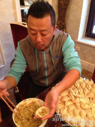 郭涛包饺子