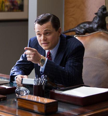 萊昂納多在《華爾街之狼》中飾貝爾福特