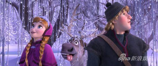 《冰雪奇緣》劇照-共踏冒險旅途