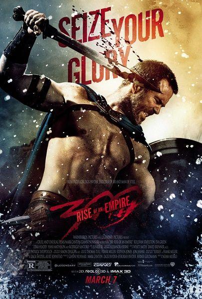 肌肉男云集的《300勇士:帝国崛起》票房登顶