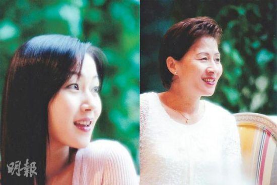 萬綺雯表示自己跟媽媽的樣貌很相似。