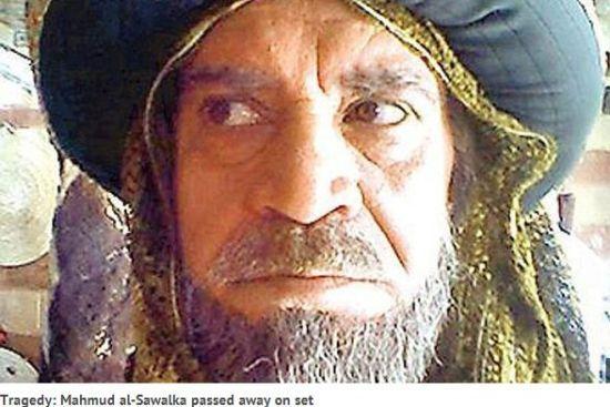 阿拉伯男星拍死亡戏离奇断气