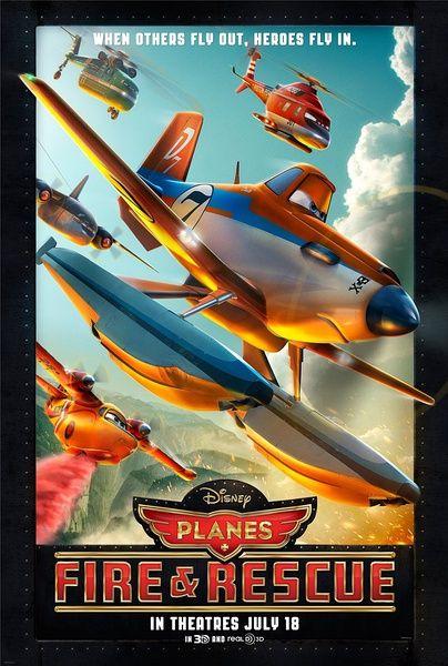 《飞机总动员:火线救援》