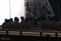 组图:《赤壁》收官大战佟大为赵薇生离死别