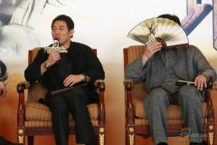 《功夫之王》主创会媒体双J大谈武术与奥运