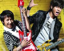 组图:SJ-M携手罗志祥代言玩转音乐青春动感