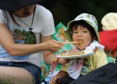 组图:富士音乐节之儿童篇