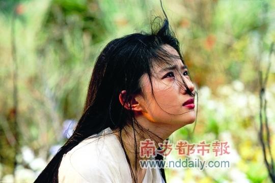 """刘亦菲此次喜怒哀乐等情绪拿捏到位,被赞演技""""有进步""""。"""