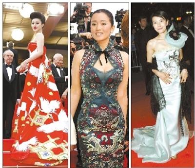 中国明星漂过戛纳网友质疑蹭红毯