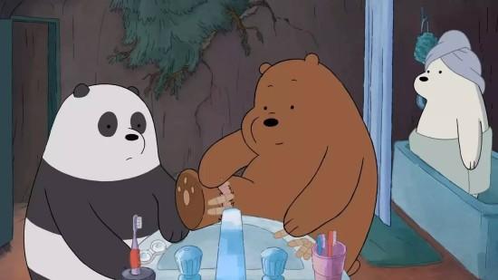 大概,就是这么三只熊的故事,按官方信息,就是这样的熊家三兄弟