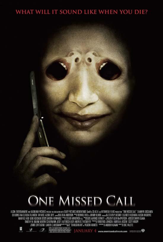 资料图片:恐怖片《美版鬼来电》海报